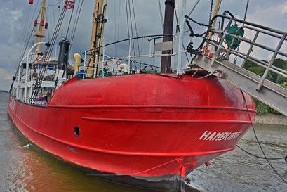Feuerschiff ELBE 3 im Museumshafen Hamburg/Övelgönne