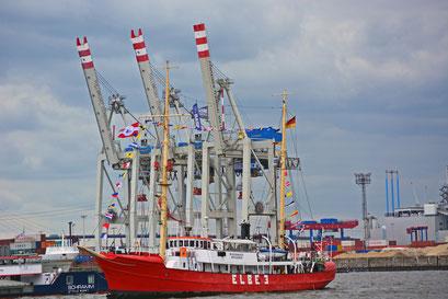 ELBE 3 zum 824.Hamburger Hafengeburtstag 2013