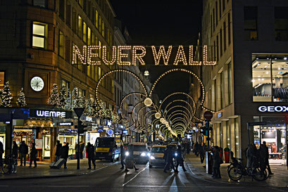NEUER WALL zur Weihnachtszeit 2015