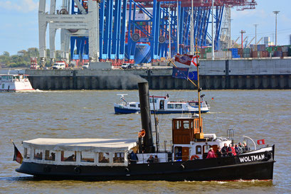 WOLTMAN zum 830.Hamburger Hafengeburtstag