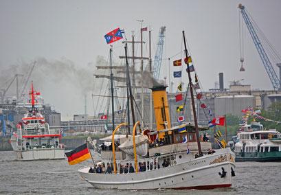 SCHAARHÖRN zum 825.Hamburger Hafengeburtstag 2014
