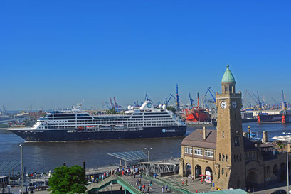 Erstanlauf der AZAMARA QUEST in Hamburg am 23.07.2014