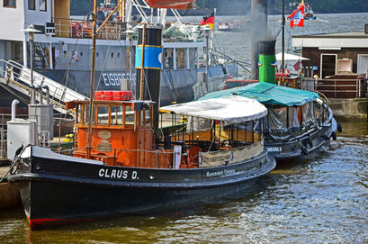 Museumshafen Hamburg/Övelgönne (CLAUS D.)