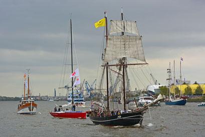 Jantje zum 828.Hamburger Hafengeburtstag