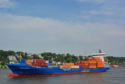 Containerschiff TRANSJORUND