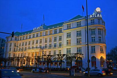Hotel ATLANTIC an der Außenalster
