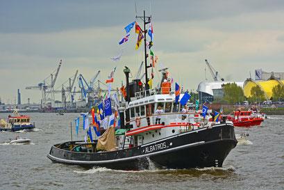 ABATROS zum 828.Hamburger Hafengeburtstag