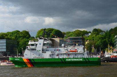 KÜSTENWACHE BORKUM zum Hamburger Hafengeburtstag 2012