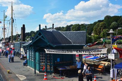 Museumshafen Hamburg/Övelgönne zum Hafenfest 2013
