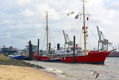 Feuerschiff ELBE 3 im Herbst 2015