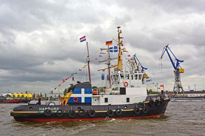 HANS zum 825.Hamburger Hafengeburtstag 2014