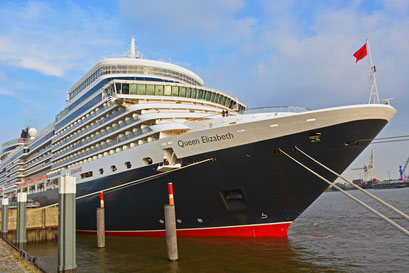 Queen Elizabeth am HCC HafenCity am 11.08.2015