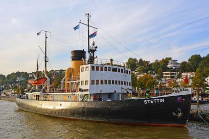 Die STETTIN im Museumshafen Övelgönne im Oktober 2015