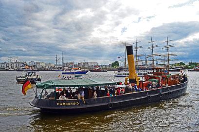 ELBE zum 823.Hamburger Hafengeburtstag 2012