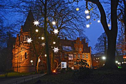 Bergedorfer Schloss zur Weihnachtszeit 2015