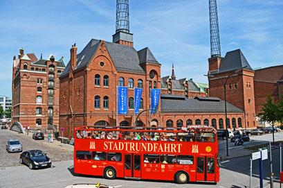 Altes Kesselhaus,jetzt HafenCity-Informationscenter