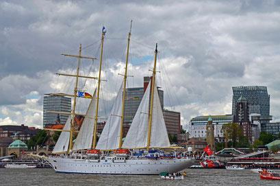 STAR CLIPPERS beim 823.Hamburger Hafengeburtstag 2012
