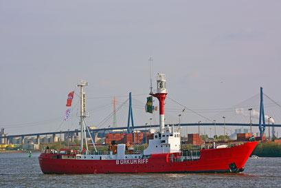 BORKUMRIFF zum 828.Hamburger Hafengeburtstag