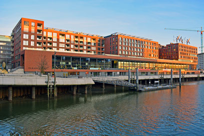 An den ELBARKADEN/Magdeburger Hafen