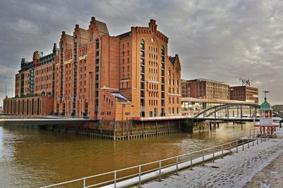 Internationales Maritimes Museum Hamburg im Winter 2013/2014