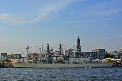 Britische Fregatte F 82 (SOMERSET) zum Hamburger Hafengeburtstag
