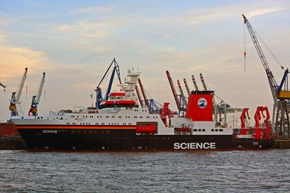 Wissenschaftsschiff SCIENCE SONNE