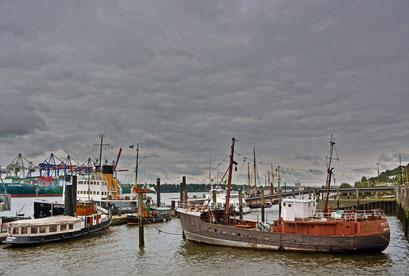 Museumshafen Hamburg/Övelgönne