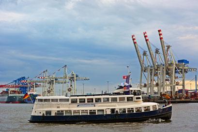 Grosser Michel zur Parade Hamburger Traditionsschiffe am 23.08.2014