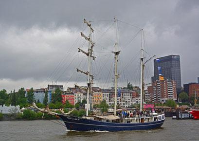 THALASSA zum 825.Hamburger Hafengeburtstag 2014