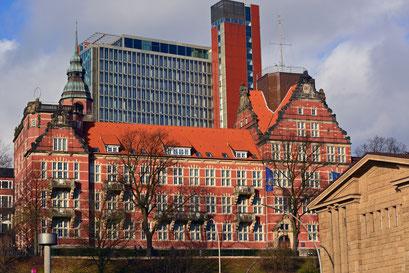 DWD - Niederlassungen Hamburg - Seewetteramt in der Bernhard-Nocht-Straße 76
