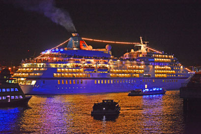 MS EUROPA zu den Hamburg Cruise Days 2019