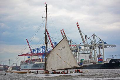 NOBILE zum 824.Hamburger Hafengeburtstag 2013