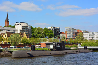 Am U-434 im Frühjahr