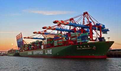 CSCL MERCURY von SHINA SHIPPING LINE