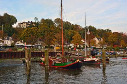 Museumshafen Övelgönne im Herbst 2014
