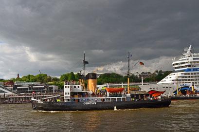 STETTIN (Dampfeisbrecher) zum 823.Hamburger Hafengeburtstag 2012