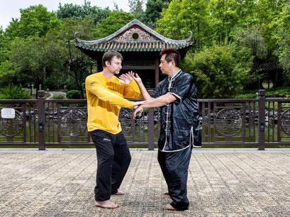 Sifu Sergio und Sifu Sunny So