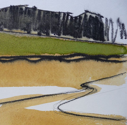 """""""Landschaft"""" (Ausschnitt)"""
