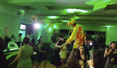 karaoke Luz y Sonido con parte de la animación.