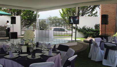 Montaje en Lomas Coutry Club Boda