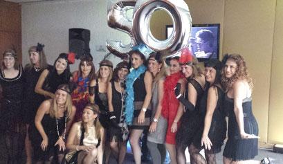 Cumple 50 nuestra festejada y amigas