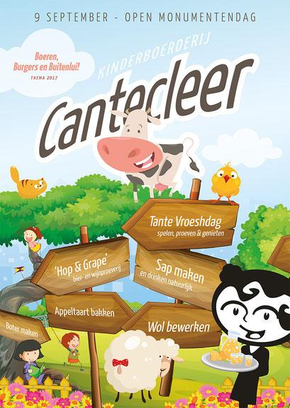 Bij Tante Vroesh en Kinderboerderij Cantecleer is van alles te doen