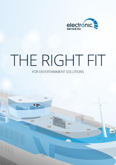 Omslag brochure Electronic Service