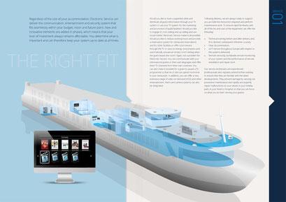 Spread brochure Electronic Service