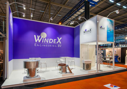 Tussenstand van WindeX Engineering op de Marine Industry 2019 in Gorinchem