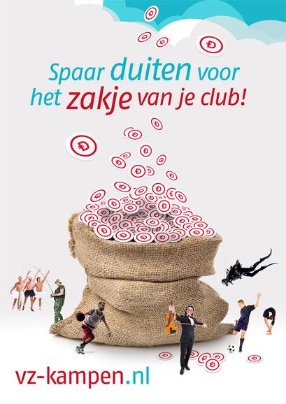 Poster loyaliteitsprogramma 'Duiten & Zakjes'