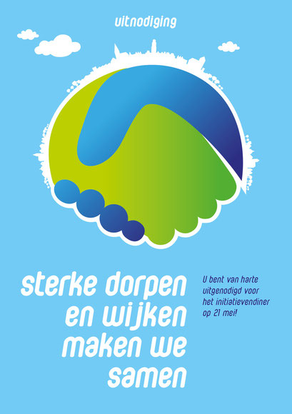 Gemeente Kampen, voorkant uitnodiging
