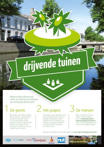 Wijkvereniging Binnenstad Kampen, affiche