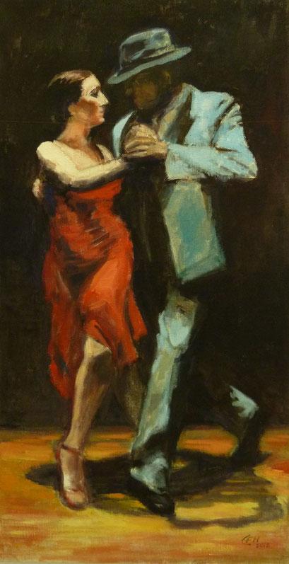 Tango Nr. 2  Öl_Lwd.47x90cm