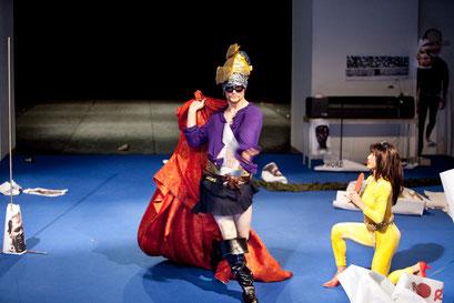 The Returns - by William Forsythe; dancers: Cyril Baldy, Yoko Ando; photo: Dominik Mentzos